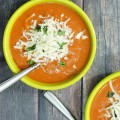 Lightened Up Creamy Tomato Basil Soup
