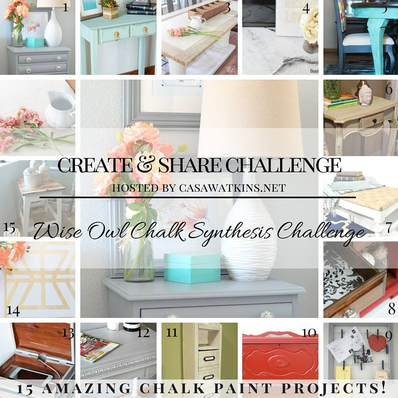 A beautiful round up of Chalk Painted Projects!