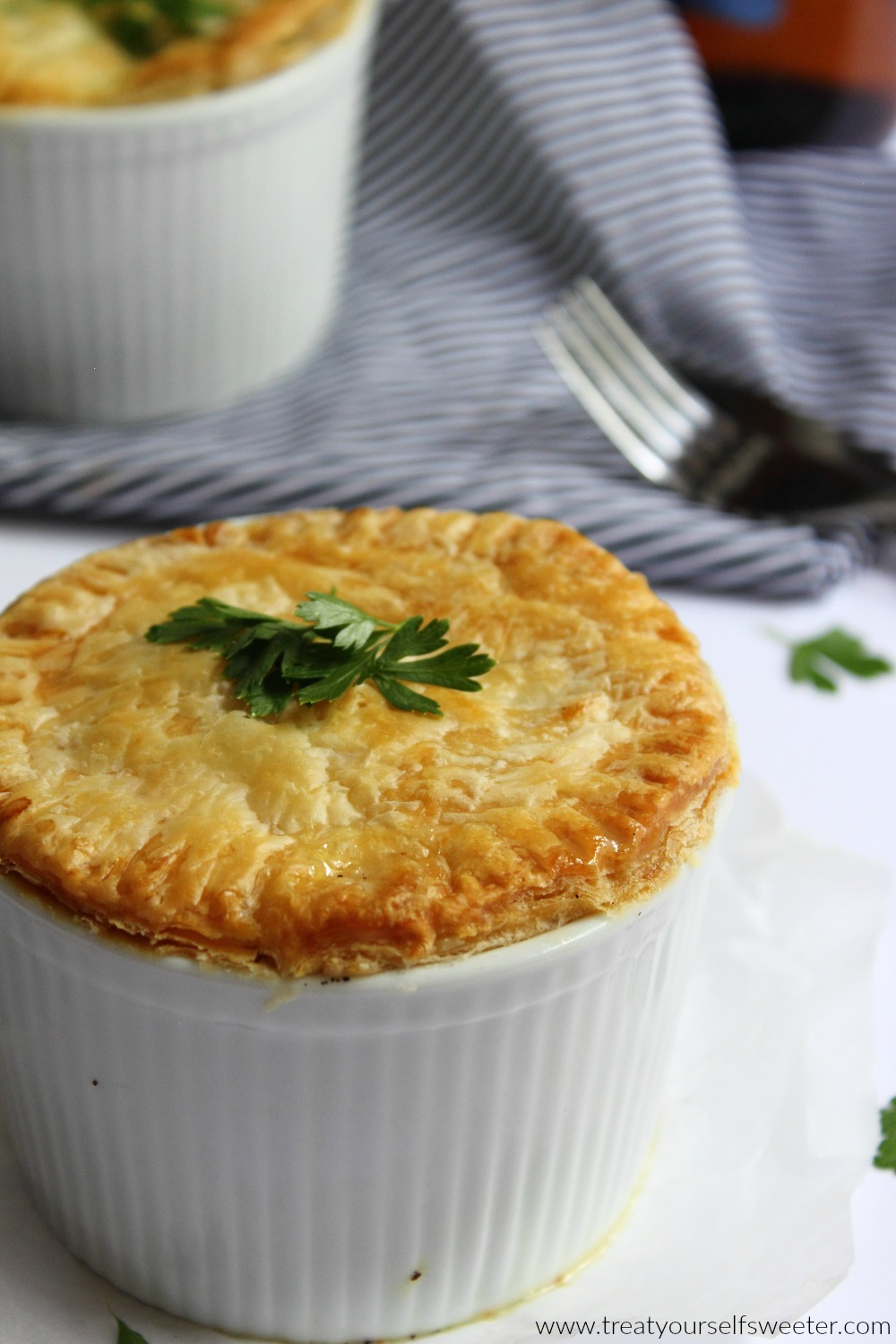 Quick and Easy Chicken Pot Pies - Old House to New Home