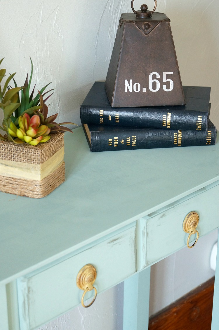 Chalk Painted Accent Table