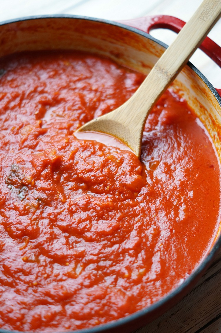 This easy marinara sauce is quick enough for a weeknight but tastes ...