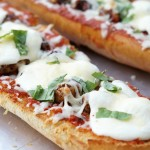 Chicken Parmesan French Bread Pizzas
