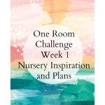 One Room Challenge: The Nursery Week 1