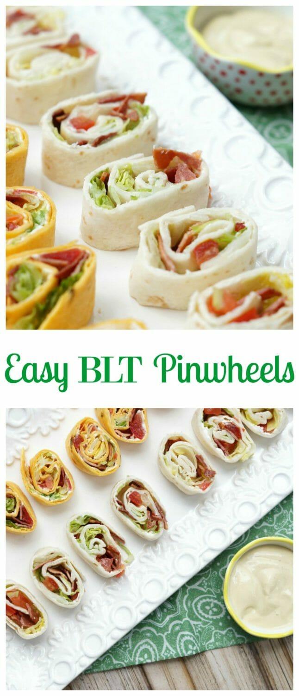 Easy BLT Pinwheels