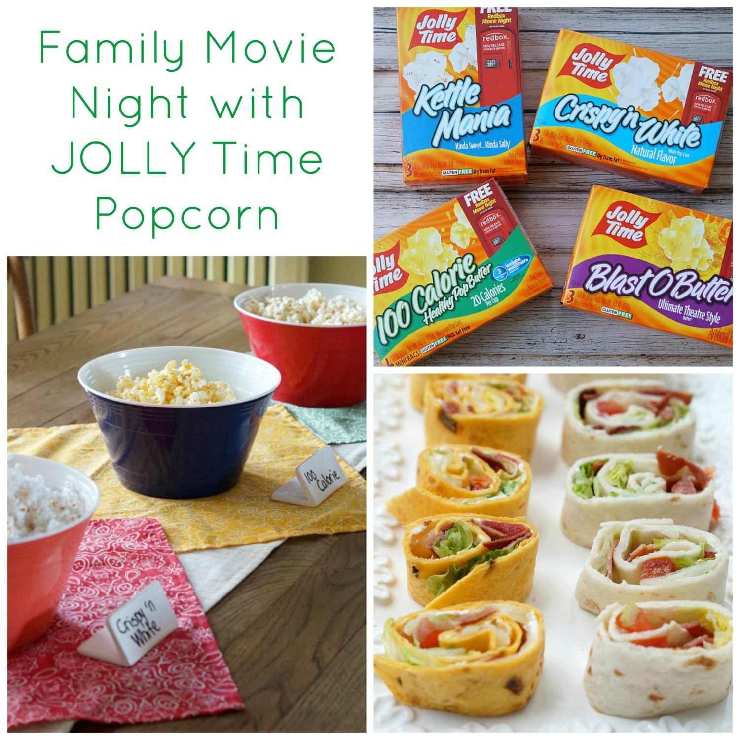 Family Movie Night with JOLLY Time Popcorn