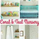 Our Coral and Teal Nursery Source List