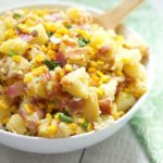 Bacon and Roasted Corn Potato Salad