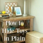 How to Hide All the Kid Clutter in Plain Sight
