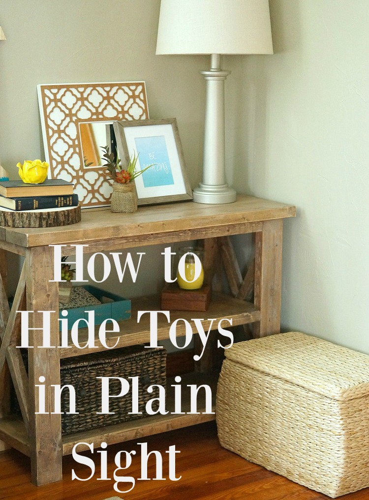 How to Hide Toys in Plain Sight