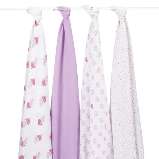 Aden and Anais Muslin Swaddle Blankets
