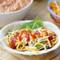 Slow Cooker Salsa Chicken Burrito Bowls