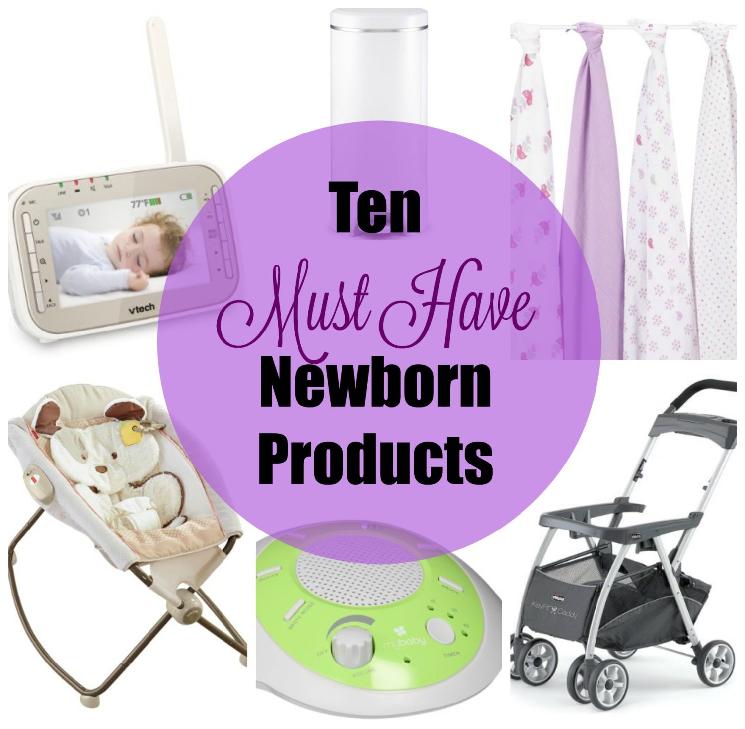 Ten Must Have Newborn Products from a Second Time Mom