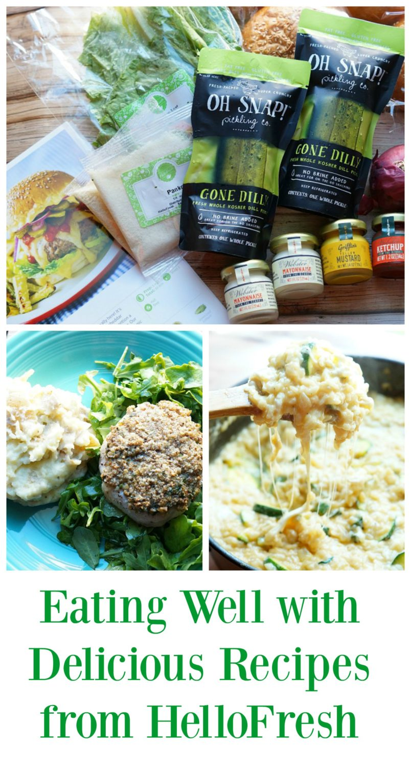 We are surviving the newborn stage thanks to meals from HelloFresh! #cbias ad #hellofreshpics