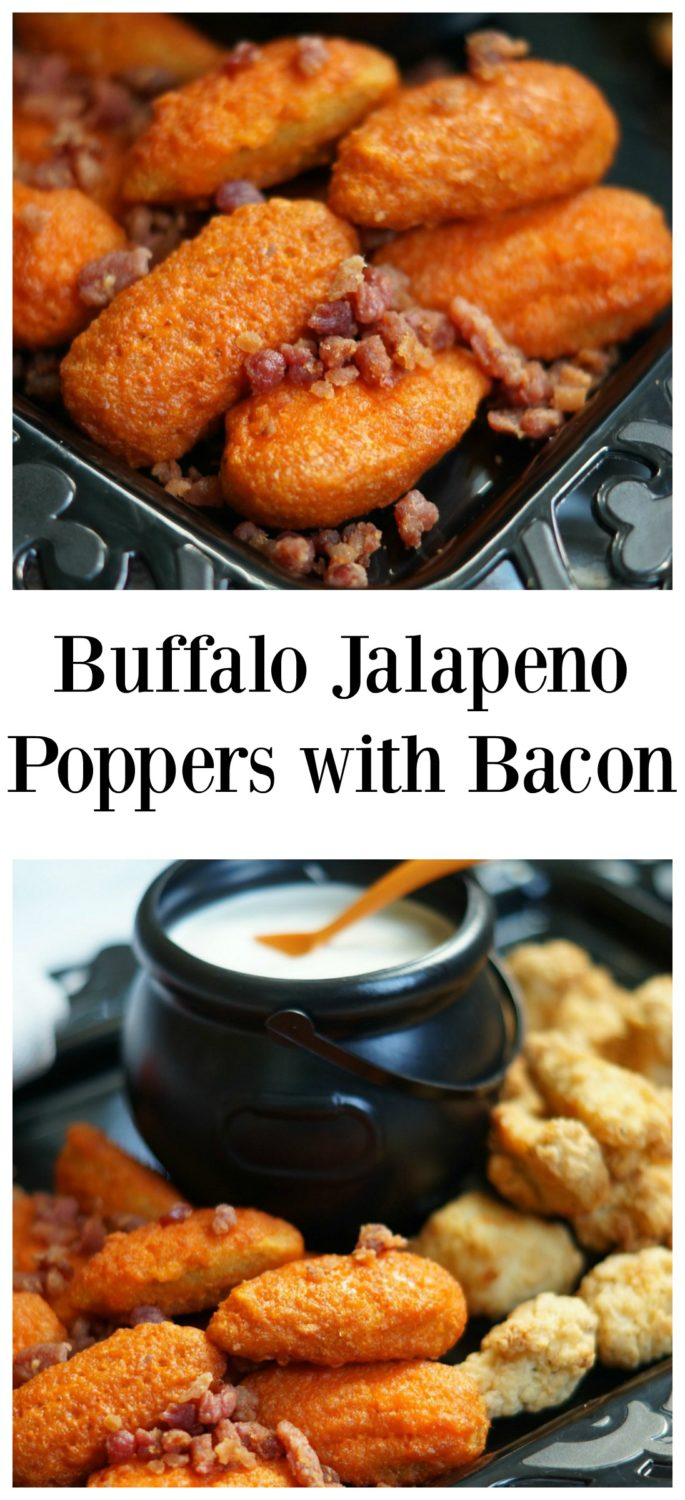Devilishly Hot Jalapeno Poppers with Bacon Perfect for Halloween!