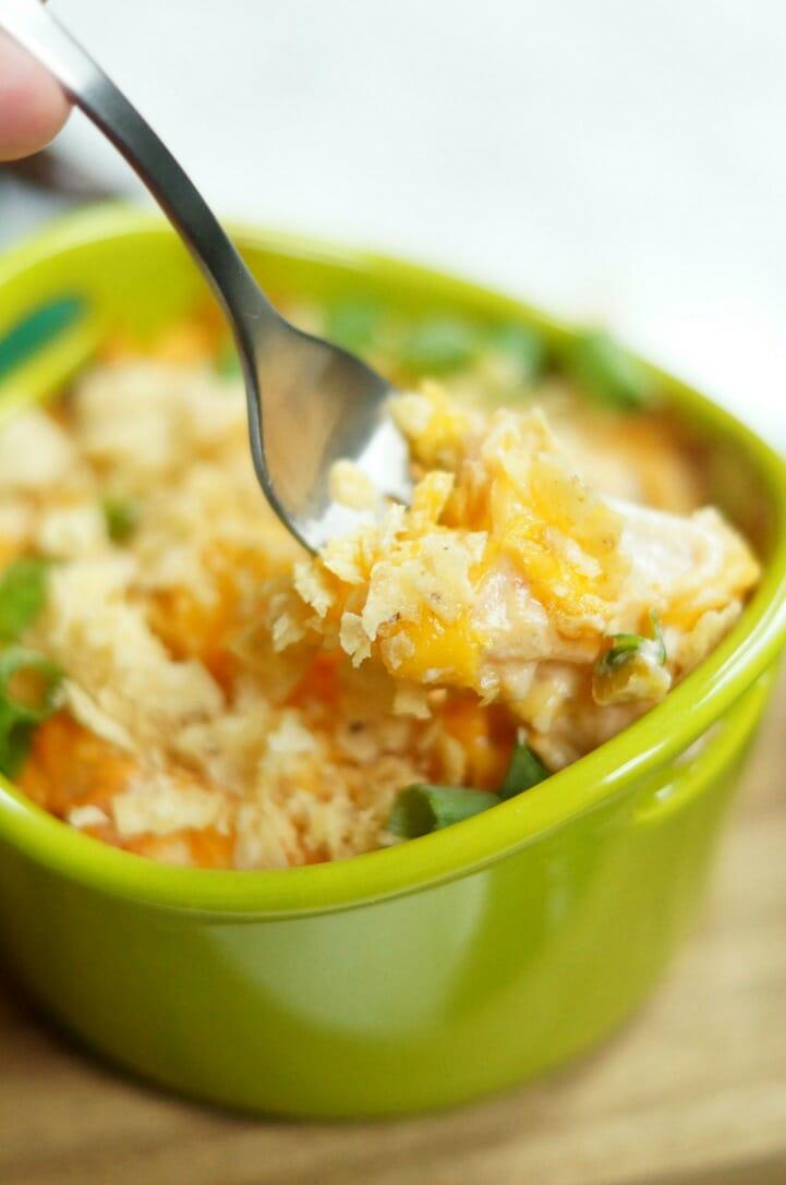 Cheesy Salsa Potatoes