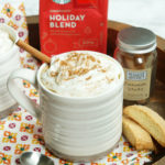 Slow Cooker White Chocolate Cinnamon Lattes