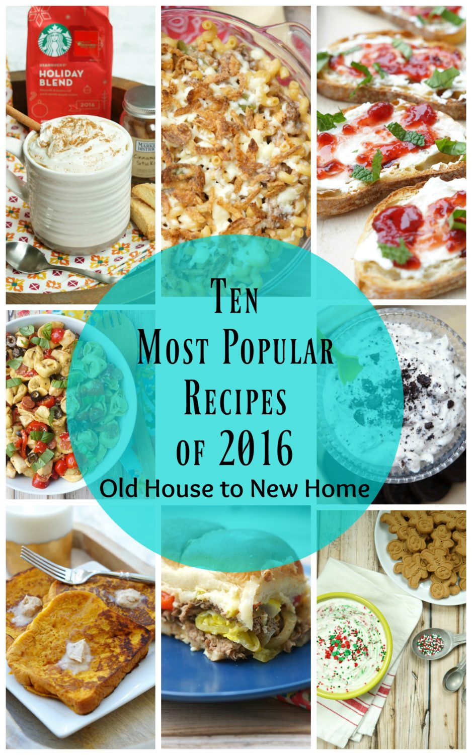 Old House to New Home's 10 Best Recipes of 2016!