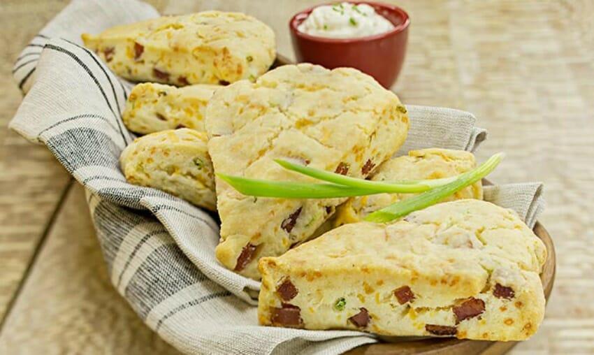 ham-scones
