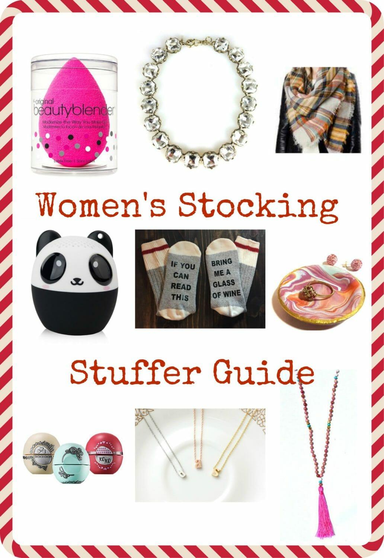 Women's Stocking Stuffer Guide 2016