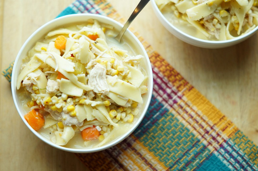 Instant Pot Chicken Pot Pie Soup