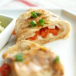 Healthy Fajita Stuffed Chicken