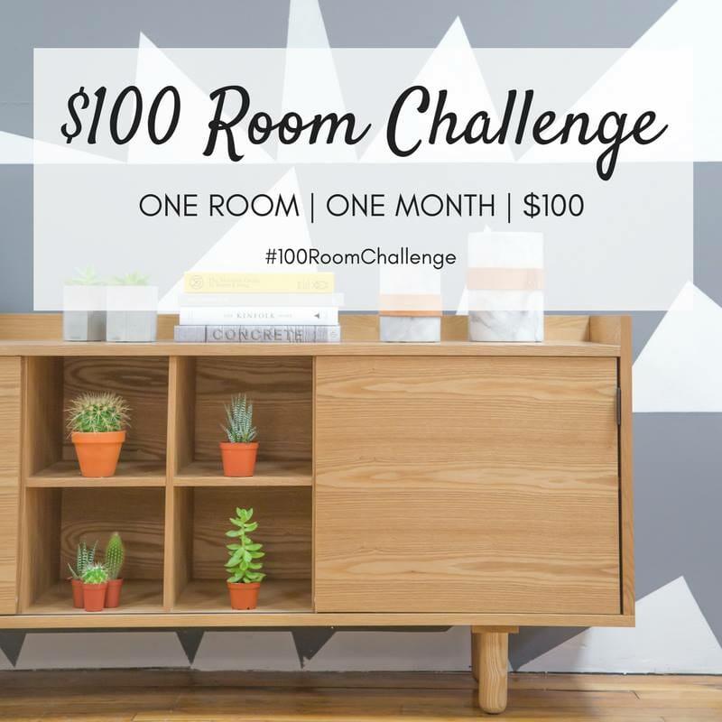 $100 Room Challenge: A Little Girl's Room