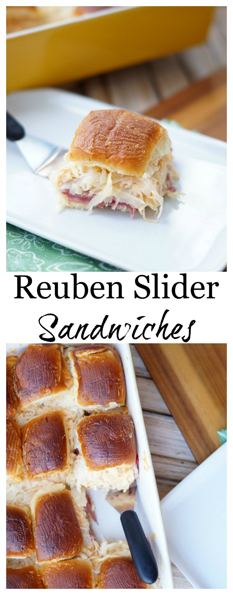 Easy Reuben Slider Sandwiches Perfect for a party!