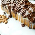 No Bake Almond Joy Pound Cake