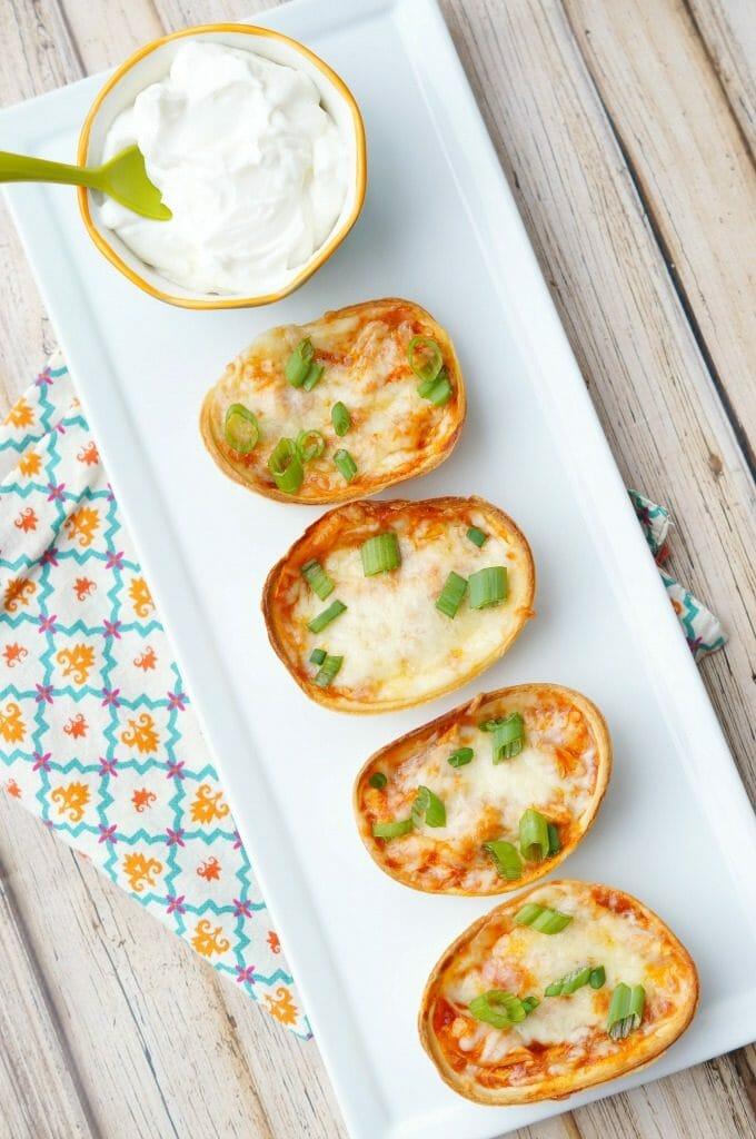 Mini Enchilada Bites