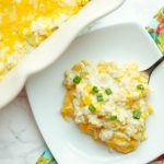 Cheesy Corn and Green Chile Rice