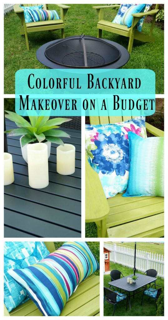 Budget Backyard Makeover with Lowe's