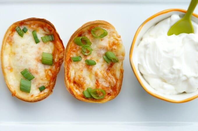 Easy Mini Chicken Enchilada Bites