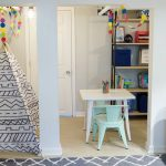 One Room Challenge: Basement Family Room and Playroom Reveal!