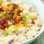 Instant Pot Bacon Cheddar Ranch Potato Salad