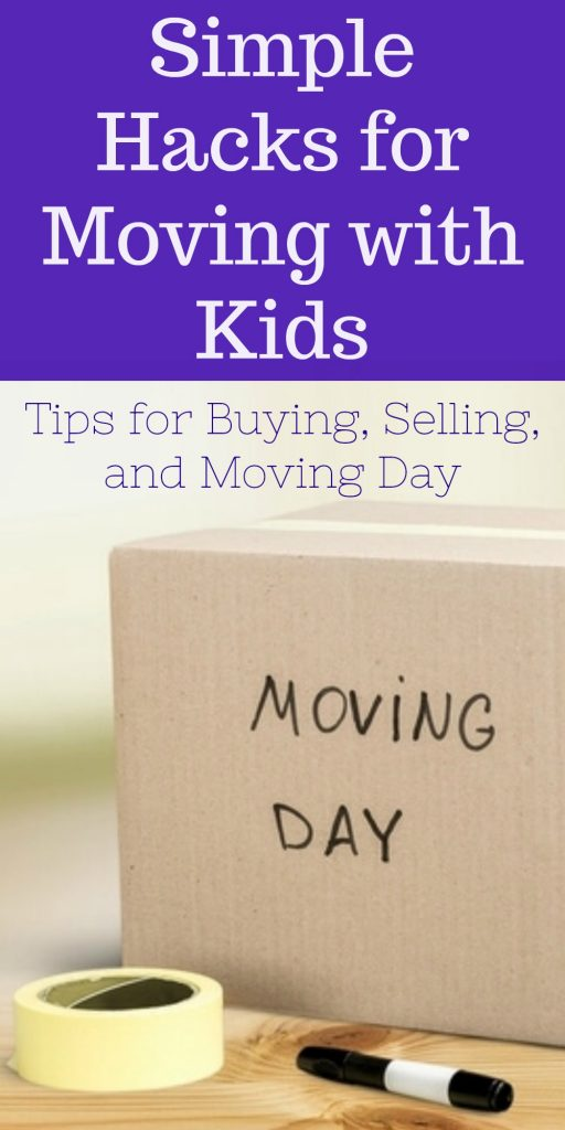 Simple Tips and Tricks for buying, selling, and moving to a new home with children. Make the transition easier for them, and you too!