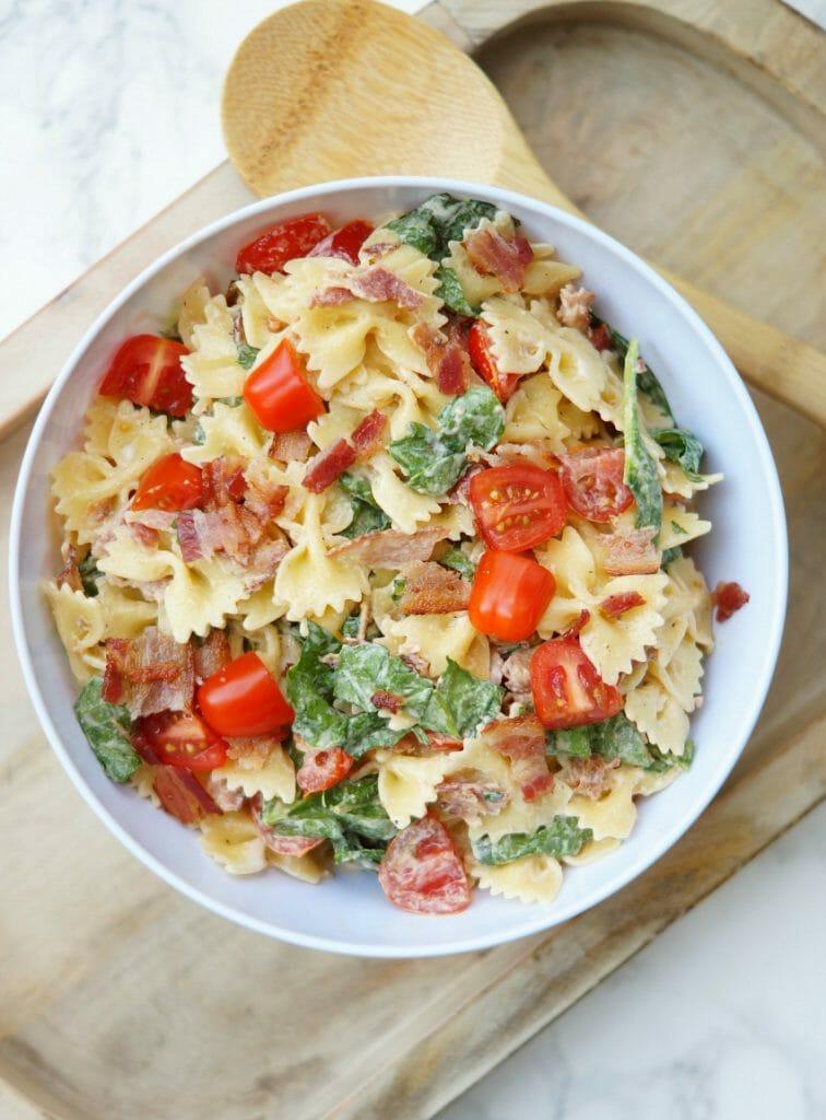 Delicious BLT Pasta Salad