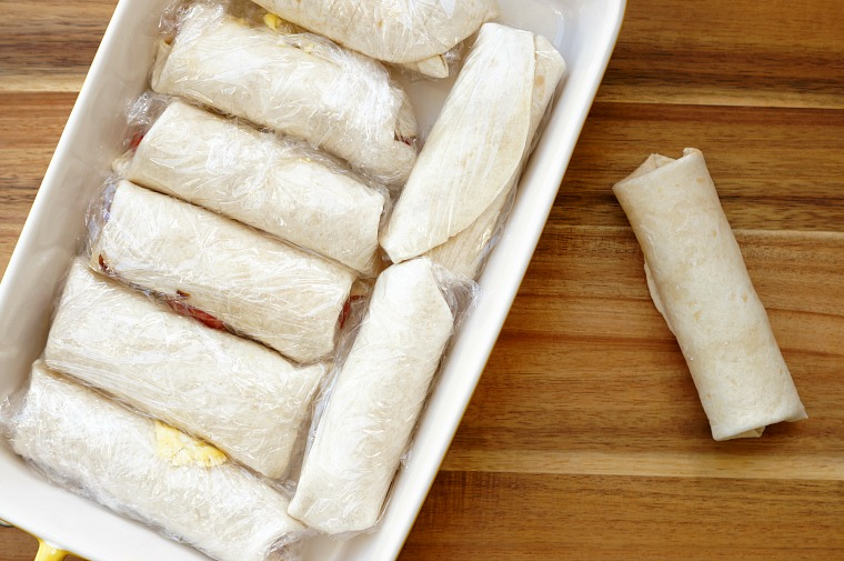 Easy Make Ahead Breakfast Wraps