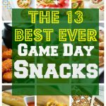 The Best Game Day Snacks! 13 of the best appetizers for your tailgate party!