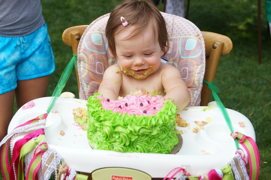 One in A Melon Themed Birthday, Smash Cake ideas for a first birthday