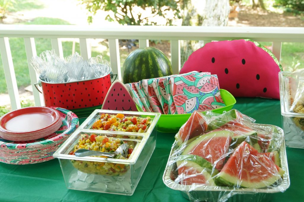 One in a Melon Birthday Party Food Ideas