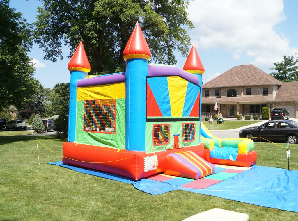 Bounce House Rental for First Birthday party