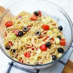 Easy Summer Spaghetti Salad