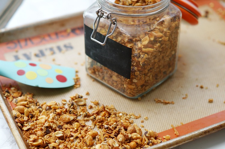 Homemade Sweet and Salty Granola