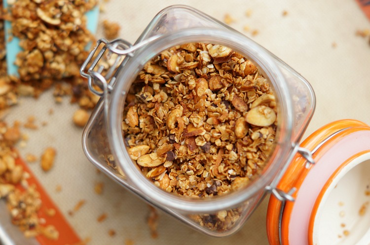 Easy Homemade Sweet and Salty Granola