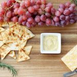 Cheese and Cracker platter for the holidays