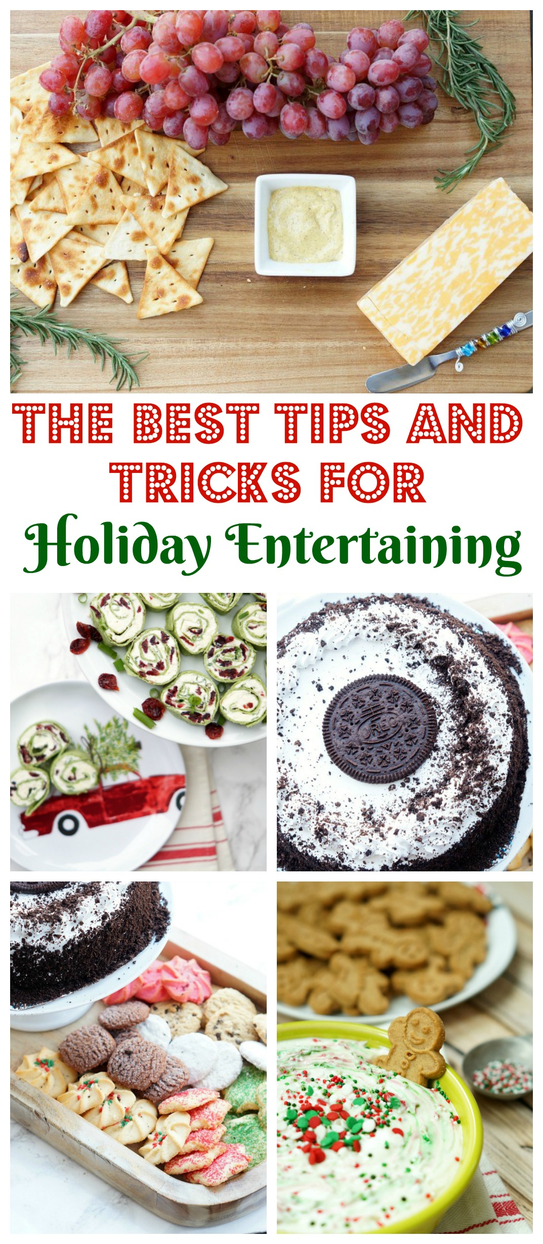 Sharing all my holiday tips and tricks, including my formula for no fail holiday entertaining!