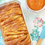 Pumpkin Pie Pull Apart Bread