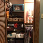 $100 Room Challenge Master Bedroom Closet Edition Week 2