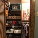 $100 Room Challenge Master Bedroom Closet Edition Week 2
