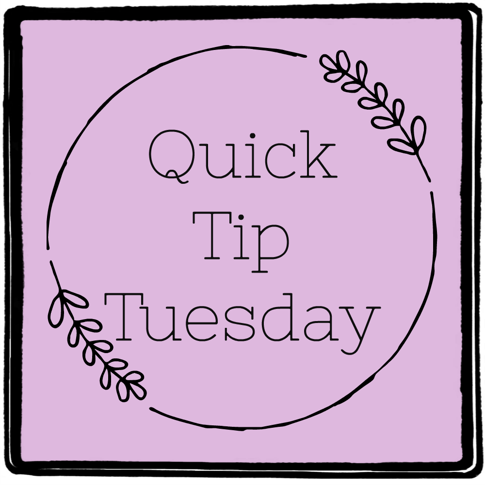 Quick Tip Tuesday: Sharing my favorite organization tips, cleaning ideas, shopping savers and general mom hacks!